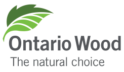 The Ontario Wood leaf will help you identify locally-made Ontario Wood products