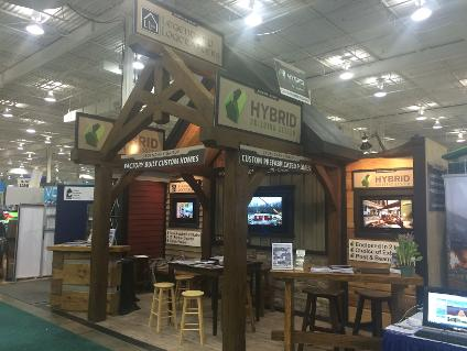 Prefab Homes Show Booth
